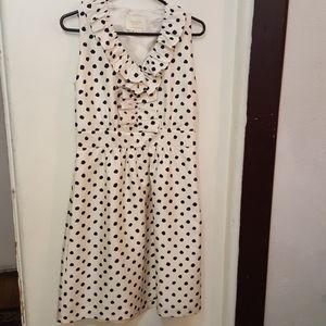 Kate Spade white polka dot dress